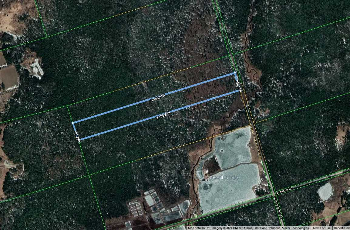 Vacant Land house for sale at 0 Concession 4 Rd, Pt Rd W Uxbridge Ontario